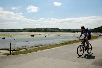 Cycling on the Camel Trail